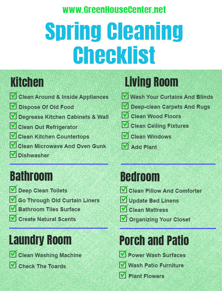 spring cleaning tips how to deep clean your house in spring